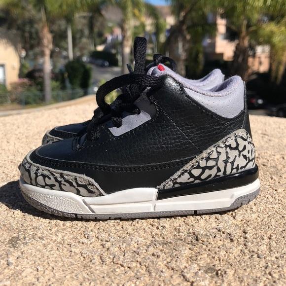 1cf1aa919ff Jordan Other - Air Jordan 3 Retro Sneakers Toddler sz 5c